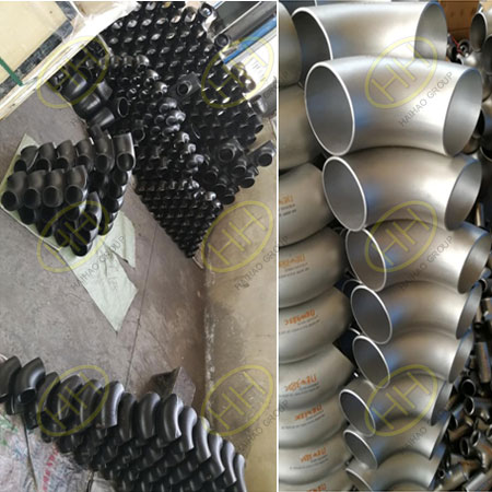 Carbon steel/stainless steel pipe fittings used in propane dehydrogenation and polypropylene unit finished in Haihao Group