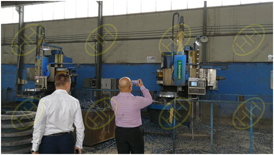 Van Leeuwen in Middle East visit Haihao Group workshop
